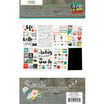 Simple Stories - Life In Color Collection - Cardstock Stickers
