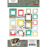 Simple Stories - Life In Color Collection - Chipboard Frames