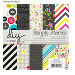 Simple Stories - DIY Collection - 6 x 6 Paper Pad - Boutique