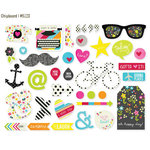 Simple Stories - DIY Collection - Chipboard Stickers - Boutique