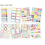 Simple Stories - DIY Collection - Cardstock Stickers - Labels