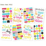 Simple Stories - DIY Collection - Cardstock Stickers - Words