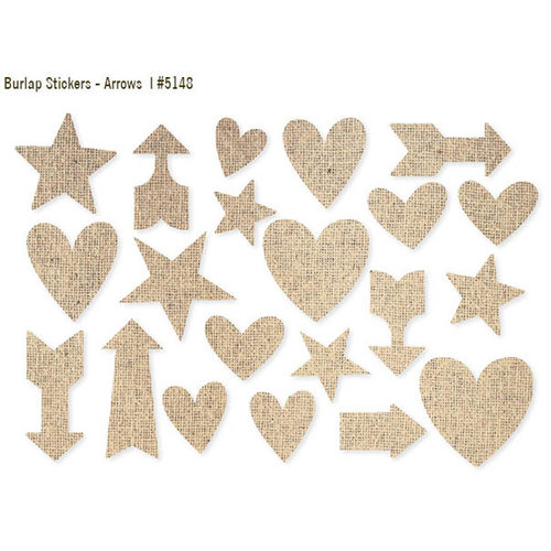 Simple Stories - DIY Collection - Burlap Stickers - Arrows