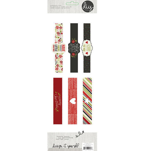 Simple Stories - DIY Christmas Collection - Label Wraps