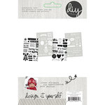 Simple Stories - DIY Christmas Collection - Clear Photo Stickers