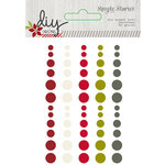 Simple Stories - DIY Christmas Collection - Enamel Dots