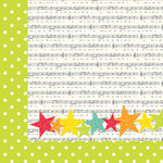 Simple Stories - Let's Party Collection - 12 x 12 Double Sided Paper - Yippee