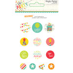 Simple Stories - Let's Party Collection - Decorative Brads