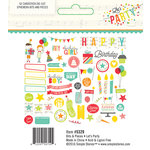 Simple Stories - Let's Party Collection - Bits and Pieces