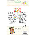 Simple Stories - Let's Party Collection - Clear Stickers