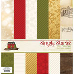Simple Stories - Cozy Christmas Collection - 12 x 12 Simple Basics Kit