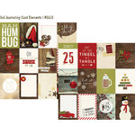 Simple Stories - Cozy Christmas Collection - 12 x 12 Double Sided Paper - 3 x 4 Journaling Card Elements