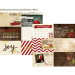 Simple Stories - Cozy Christmas Collection - 12 x 12 Double Sided Paper - 4 x 6 Horizontal Journaling Card Elements