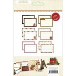 Simple Stories - SNAP Collection - 4 x 6 Recipe Cards - Cozy Christmas