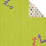 Simple Stories - Frankie and Friends Collection - Halloween - 12 x 12 Double Sided Paper - Trick or Treat