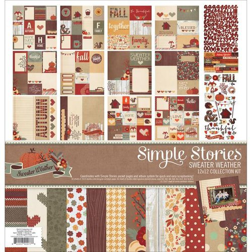 Simple Stories - Sweater Weather Collection - 12 x 12 Collection Kit