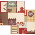 Simple Stories - Sweater Weather Collection - 12 x 12 Double Sided Paper - 3 x 4 and 4 x 6 Journaling Card Elements