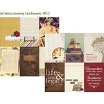 Simple Stories - Legacy Collection - 12 x 12 Double Sided Paper - 4 x 6 Vertical Journaling Card Elements
