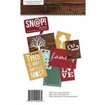 Simple Stories - SNAP Collection - 3 x 4 and 4 x 6 Die Cut Cards - Legacy