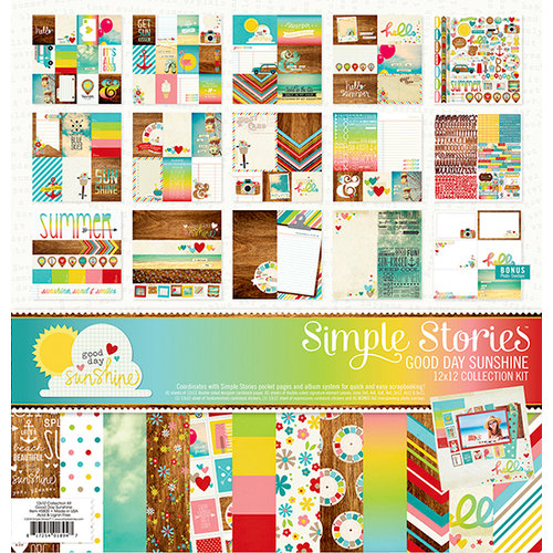Simple Stories - Good Day Sunshine Collection - 12 x 12 Collection Kit