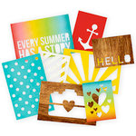 Simple Stories - SNAP Collection - 3 x 4 and 4 x 6 Die Cut Cards - Good Day Sunshine