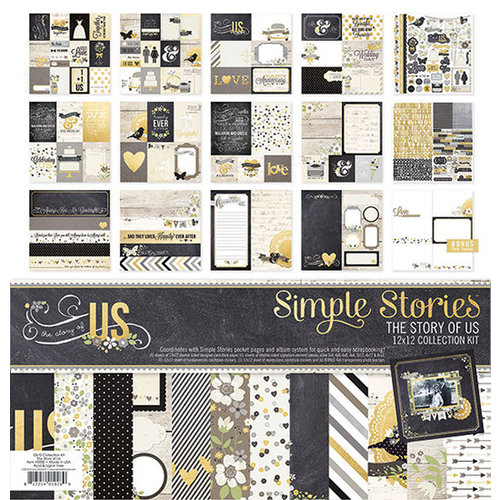 Simple Stories - The Story of Us Collection - 12 x 12 Collection Kit