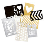 Simple Stories - SNAP Collection - 3 x 4 and 4 x 6 Die Cut Cards - The Story of Us