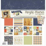 Simple Stories - Under the Stars Collection - Simple Sets - 12 x 12 Collection Kit