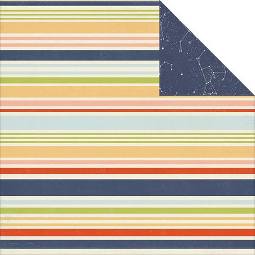 Simple Stories - Under the Stars Collection - Simple Sets - 12 x 12 Double Sided Paper - Starry Skies