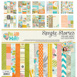 Simple Stories - You Are Here Collection - 12 x 12 Collection Kit