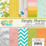 Simple Stories - You Are Here Collection - 6 x 6 Paper Pad