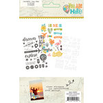 Simple Stories - You Are Here Collection - Clear Stickers