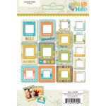 Simple Stories - You Are Here Collection - Chipboard Frames
