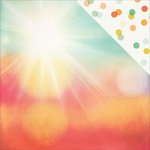 Simple Stories - Summer Vibes Collection - 12 x 12 Double Sided Paper - Shine On