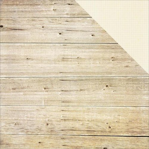 Simple Stories - Summer Vibes Collection - 12 x 12 Double Sided Paper - White Wood