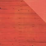 Simple Stories - Summer Vibes Collection - 12 x 12 Double Sided Paper - Red Wood