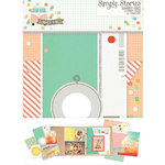 Simple Stories - SNAP Collection - 6 x 8 Journal Insert Pages - Summer Vibes