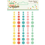 Simple Stories - Summer Vibes Collection - Enamel Dots