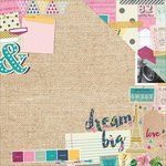 Simple Stories - So Fancy Collection - 12 x 12 Double Sided Paper - Mood Board