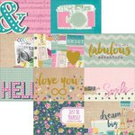 Simple Stories - So Fancy Collection - 12 x 12 Double Sided Paper - 4 x 6 Horizontal Journaling Card Elements