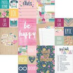 Simple Stories - So Fancy Collection - 12 x 12 Double Sided Paper - 2 x 2 and 4 x 6 Elements