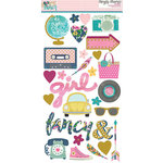 Simple Stories - So Fancy Collection - Chipboard Stickers