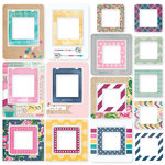 Simple Stories - So Fancy Collection - Chipboard Frames