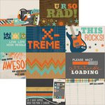 Simple Stories - So Rad Collection - 12 x 12 Double Sided Paper - 4 x 6 Horizontal Journaling Card Elements