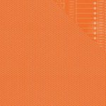 Simple Stories - So Rad Collection - 12 x 12 Double Sided Paper - Orange Honeycomb