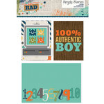 Simple Stories - SNAP Collection - 3 x 4 and 4 x 6 Cards - So Rad