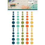 Simple Stories - So Rad Collection - Enamel Dots