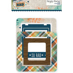 Simple Stories - So Rad Collection - Chipboard Frames