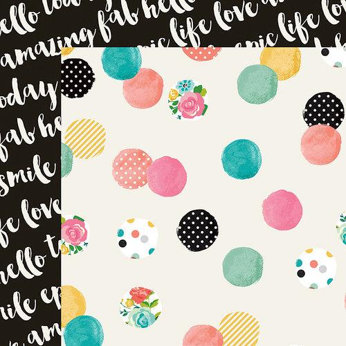 Simple Stories - Carpe Diem Collection - 12 x 12 Double Sided Paper - Make It Happen