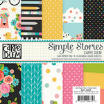 Simple Stories - Carpe Diem Collection - 6 x 6 Paper Pad